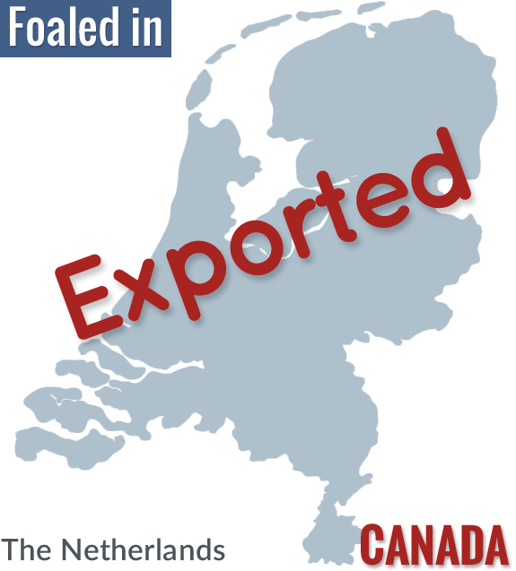 exported to canada