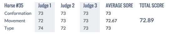 Score Keuring 2014 #35