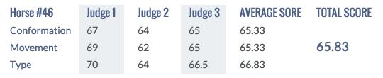 Score Keuring 2014 #46