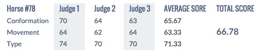 Score Keuring 2014 #78