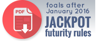 Foals after 2016 ADHHA Jackpot Futurity rules