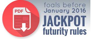 Foals before 2016 ADHHA Futurity Jackpot